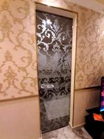 Glass slide door