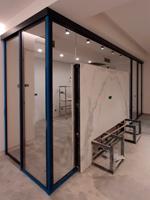 Glass slide doors