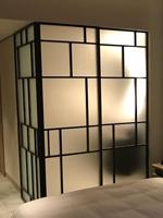 Loft style sliding doors