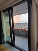 Thermally insulated sliding doors