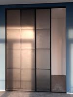 Multifunctional sliding doors